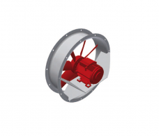 AXIAL FANS FOR THE ASPIRATION OF FIRE SMOKES MP-HT SERIES