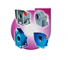 CENTRIFUGAL FANS MEDIUM PRESSURE DIRECT CONNECTION