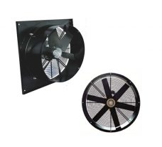 AXIAL FANS WITH SQUARE PANEL MQBQ SERIES
